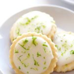 coconut lime shortbread cookies recipe