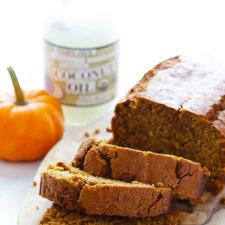 Coconut Oil Pumpkin Bread Recipe
