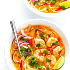Curry Noodle Bowls Recipe