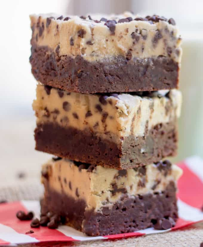 Cookie Dough Brownies Recipe