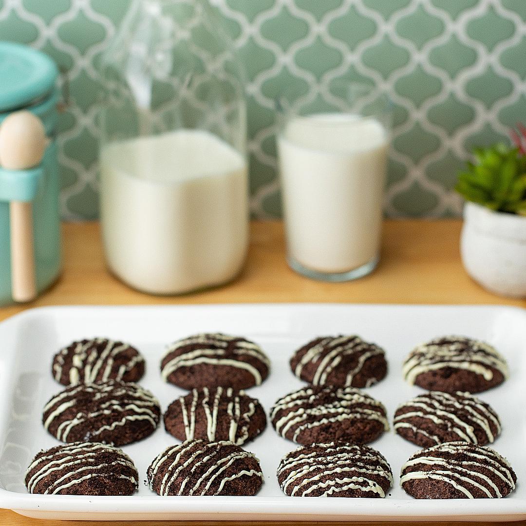 Cookies & Cream Stuffed Cookies Recipe