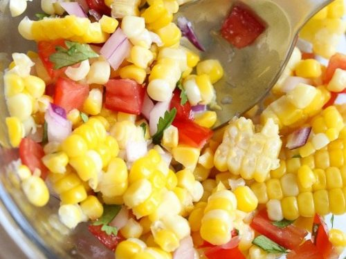 corn salsa with lime recipe