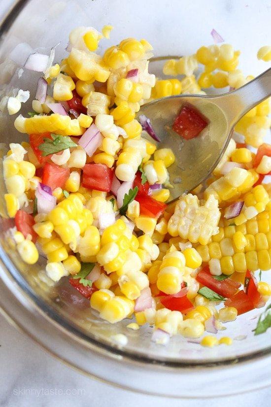 Corn Salsa with Lime Recipe