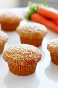 Cream Cheese Filled Carrot Cake Muffins Recipe