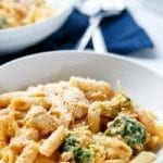 creamy chicken and broccoli pumpkin alfredo recipe