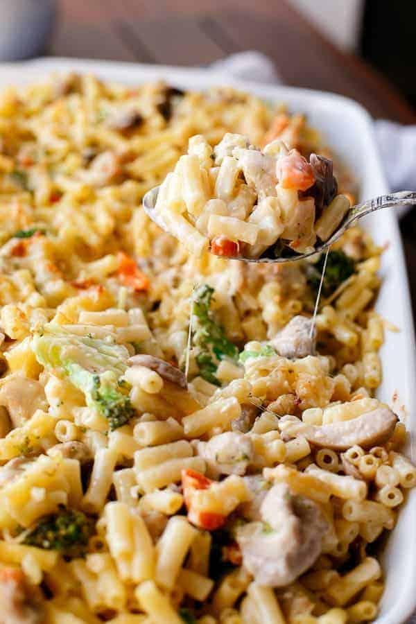 Mushroom Macaroni Cheese Bake Recipe