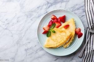 Blender Eggnog Crêpes Recipe