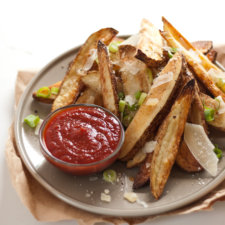 Crispy Baked French Fries Recipe