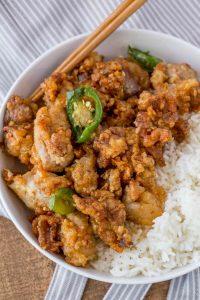 Crispy Hawaiian Garlic Chicken Recipe