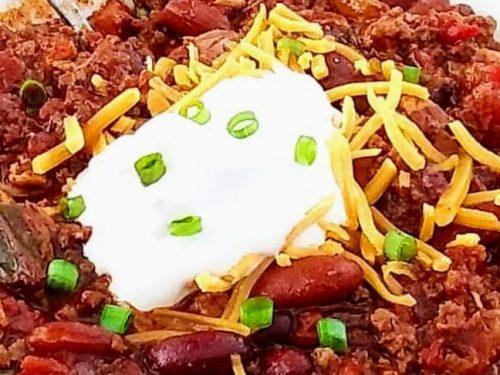 crock pot chili recipe