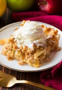 Crumb-Topped Apple Slab Pie Recipe