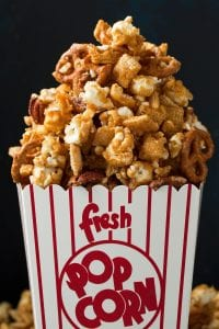 Crunchy Caramel Corn Snack Mix Recipe