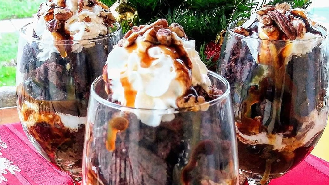 Gourmet Chocolate Pecan Trifle Recipe
