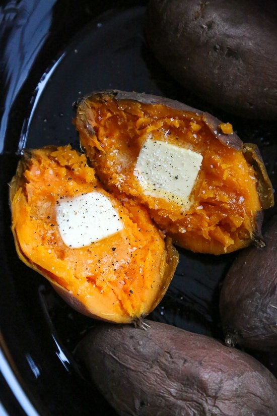 Easy Slow Cooker Sweet Potatoes Recipe