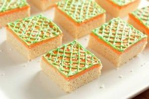 Easter Sugar Cookie Squares Recipe