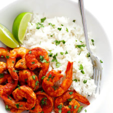 Easy Peruvian Shrimp Recipe