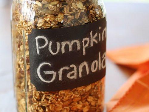 easy pumpkin spice granola recipe