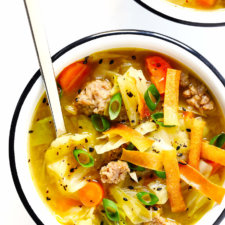 Quick and Easy Egg Roll Soup Recipe