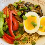 elegant veggie ramen recipe