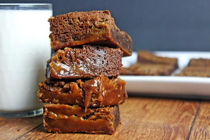 Fat Witch Bakery's Legendary Chocolate Caramel Brownies Recipe