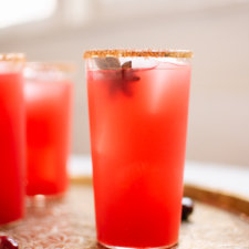 Fresh Cranberry Margaritas Recipe