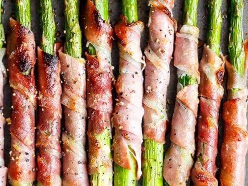 garlic butter prosciutto wrapped asparagus recipe