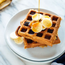 Gluten-Free Banana Oat Waffles Recipe