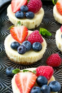 Greek Yogurt Cheesecakes Recipe