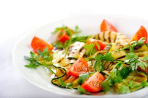 Grilled Zucchini and Tomato Salad Recipe