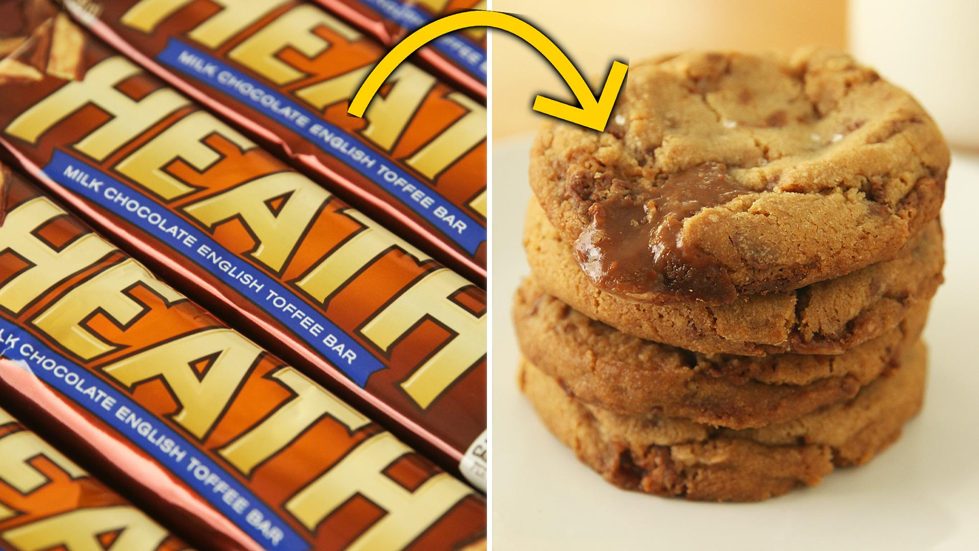 Heath Bar Cookies by Devonna Banks of Butter Bakery Recipe