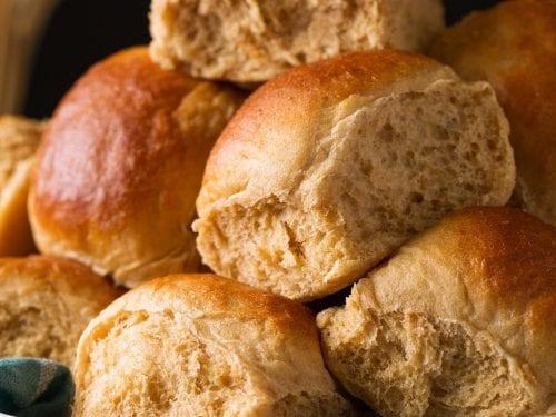 honey whole wheat rolls recipe