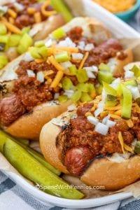 Quick Hot Dog Chili Recipe