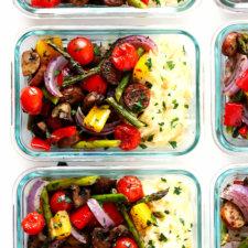 italian sausage and veggie bowls recipe