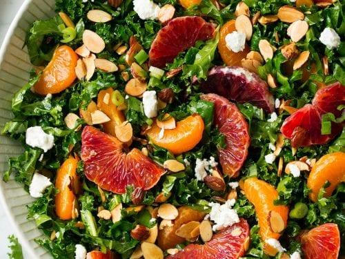 kale orange salad recipe
