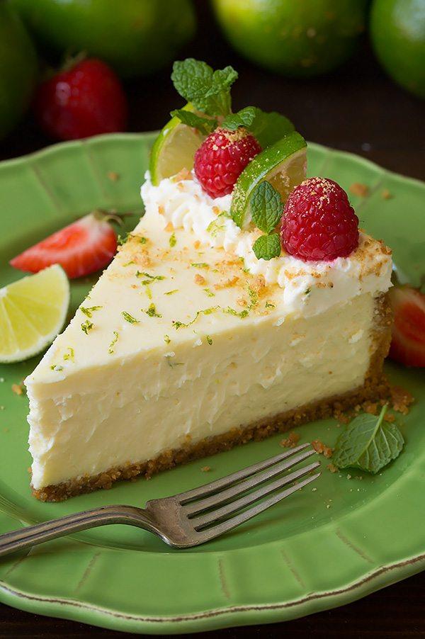 Key Lime Cheesecake Recipe