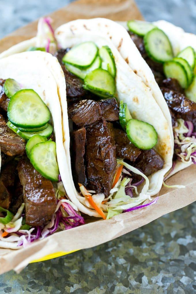 Korean BBQ Tacos Recipe