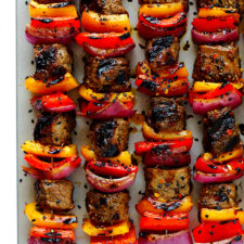 Korean Steak Kabobs Recipe