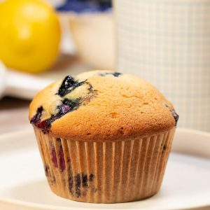 Lemon-Berry Muffins Recipe