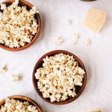 Lemon, Parmesan and Black Pepper Popcorn Recipe