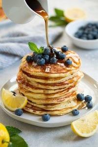 Lemon Ricotta Pancakes Recipe