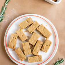 Lemon, Rosemary and Olive Oil Shortbread Recipe
