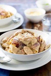 Creamy Chicken Carbonara Recipe