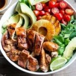 lime and garlic barbecue chicken salad recipe