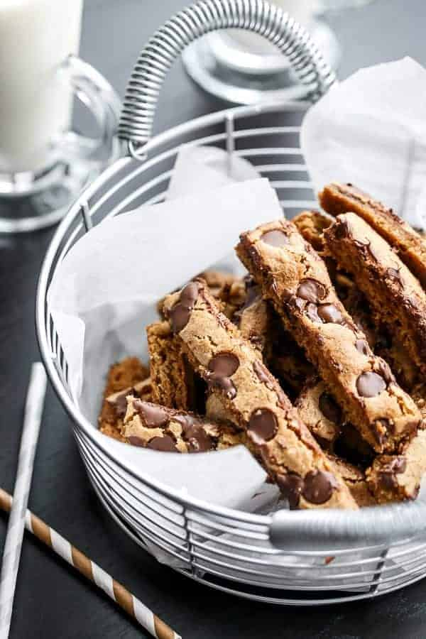 Low Fat Choc Chip Cookie Sticks Recipe