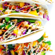 Mango Chipotle Fish Taco Recipe