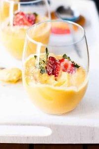 Mango Coconut Cheesecake Parfaits Recipe