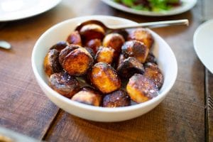 Maple Glazed Apple Fritter Donut Holes Recipe