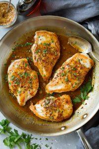 Maple-Mustard Skillet Chicken Recipe