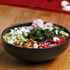 McCormick® Chickpea Buddha Bowl Recipe