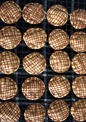Mini Chocolate Covered Peanut Butter Cookies Recipe